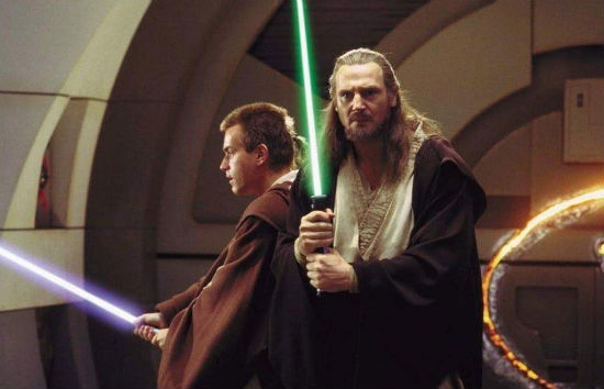 The Phantom Menace, to be released in glorious 3D HD next year.