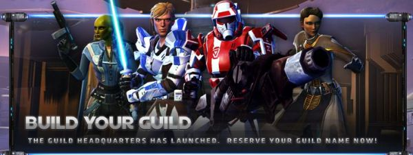 Head over to the SWTOR Forums and join a guild today!