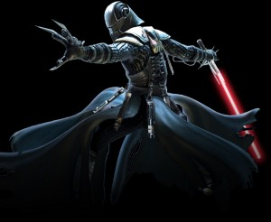 A powerful Sith Warrior from SWTOR