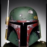 Fett's distinctive helmet