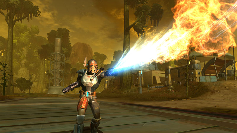 Will SWTOR Hunters remain somewhat akin to Boba Fett?