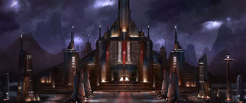 The Sith seat of government on Dromund Kaas