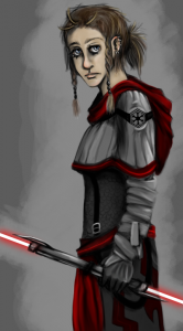 A Fan's impression of a Sith Inquisitor.