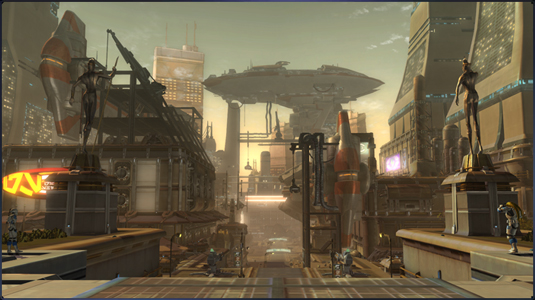 The new look of the Corellian shipyards.