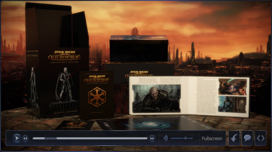 Unboxing the SWTOR Collectors Edition